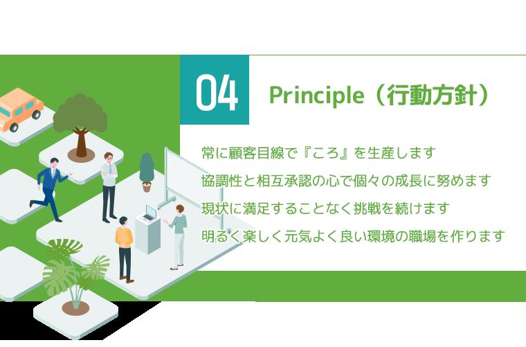 Principle(行動方針)